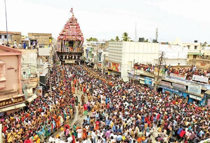 நெல்லையப்பர் கோவில் ஆனித்தேரோட்டம், பிரம்மோற்சவ விழா கொரோனாவால் ரத்து ..!