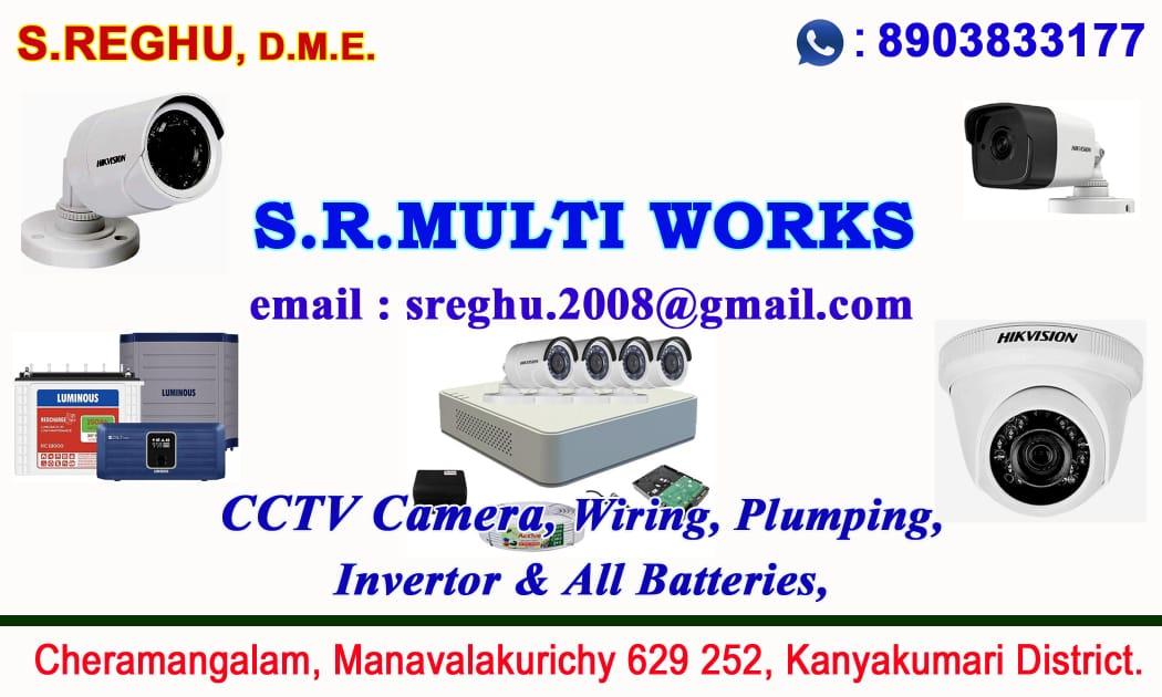 S.R.MULTI WORKS – Manavalakurichy  S.Reghu