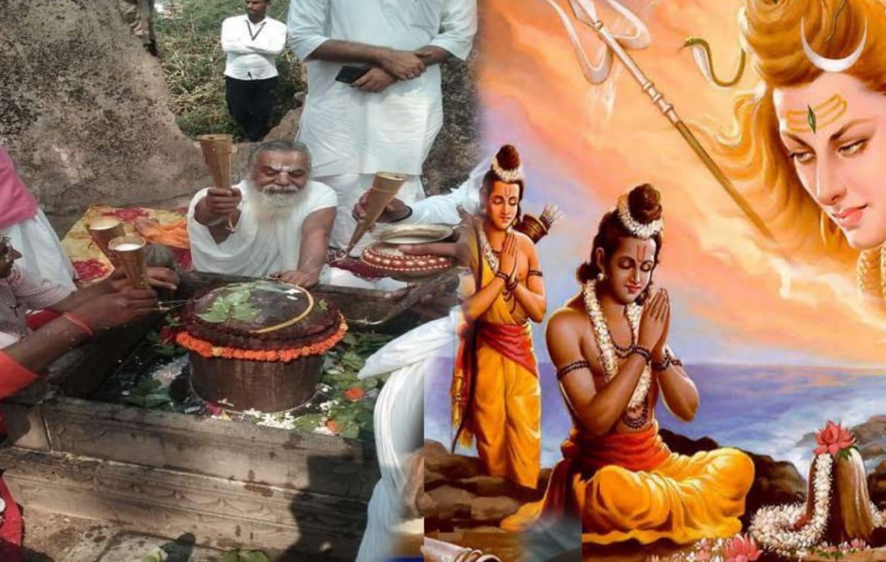 அயோத்தியில் ராமர் கோவில் கட்டுமான பணி ருத்ராபிஷேக பூஜையுடன் துவங்கியது