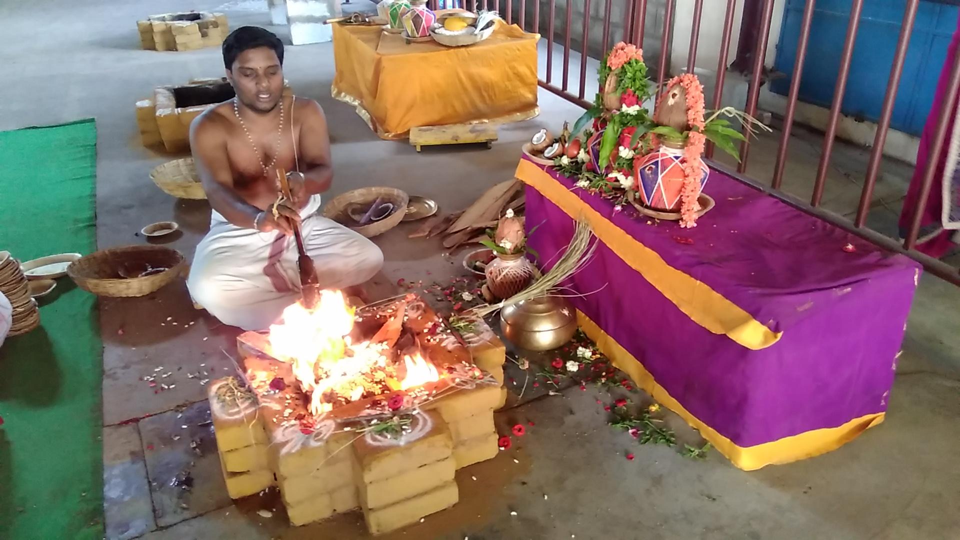 ஸ்ரீதன்வந்திரி பீடத்தில் சத்ரு சம்ஹார ஸ்கந்த ஹோமம்..!