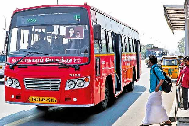 சென்னை மாநகர போக்குவரத்து கழகத்தின் பேருந்துகளில்முதற்கட்டமாக 50 ஜிபிஎஸ் வசதி அறிமுகம்..!