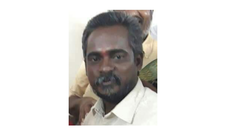 திருச்சி பாலக்கரை பா.ஜ.க மண்டல் தலைவர் ரகுநாதன் படுகொலை