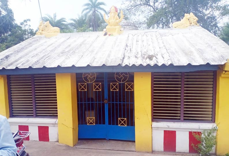 விநாயகர் கோயில் பூட்டை உடைத்து ஐம்பொன் சிலை திருட்டு
