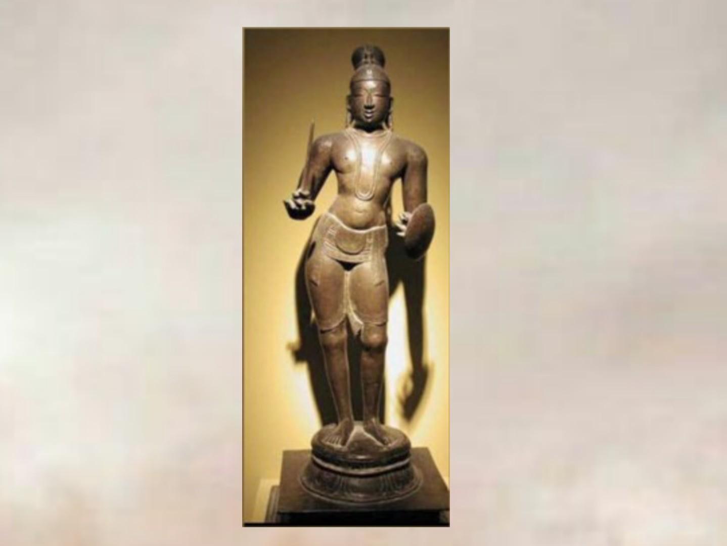 தமிழ்நாட்டில் இருந்து திருடப்பட்ட  திருமங்கை ஆழ்வார் சிலை இங்கிலாந்தில் கண்டுபிடிப்பு..!!