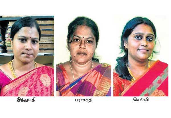 இணையதளத்தில் தகவல்களை சேகரித்து, கோவில் திருவிழாக்களில் கைவரிசை :  கோனியம்மன் கோவில் சிக்கிய 3 பெண்கள்!