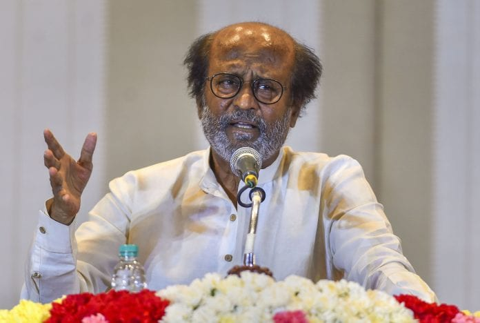 நடிகர் ரஜினிகாந்திற்கு 'தாதா சாகேப் பால்கே' விருது