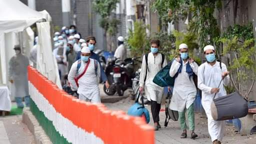 டெல்லி  தப்லிக் ஜமாத் மாநாடு ஏற்பாட்டாளர் மவுலானா  மீது எஃப்ஐஆர் பதிவு..!