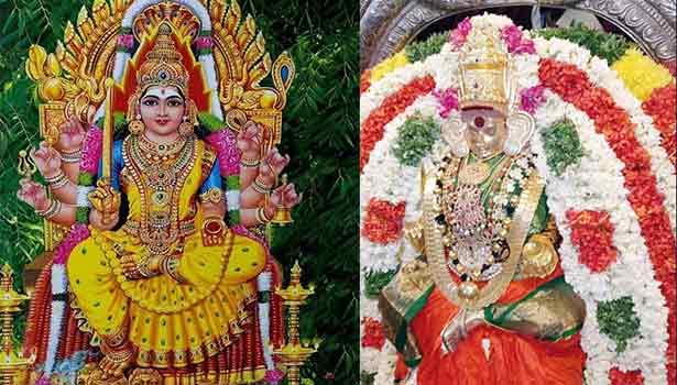 புகழ்பெற்ற சமயபுரம் மாரியம்மன் கோவில்  பஞ்சப்பிரகார விழாவும் ரத்து..!