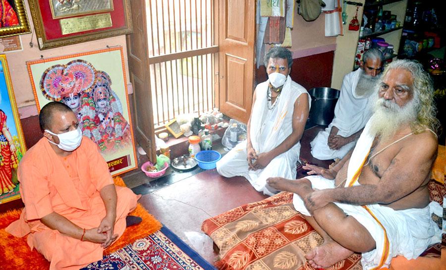 அயோத்தியில், ராமர் கோவில் கட்டுமான பணிகளை, முதல்வர் யோகி ஆய்வு..!