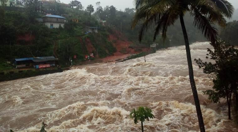 கேரளாவில் கனமழை இடுக்கி மாவட்டத்திற்கு 'ரெட் அலர்ட்'