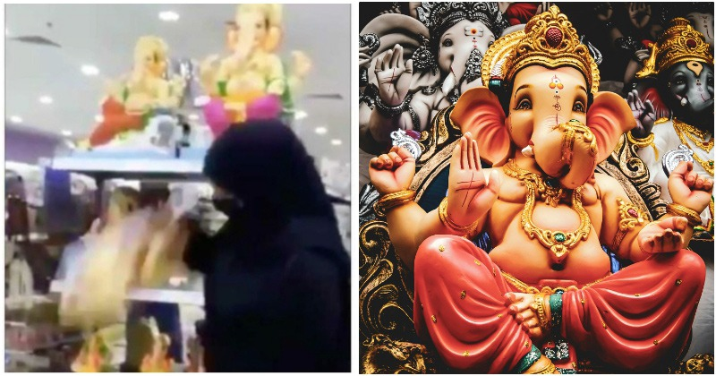 பஹ்ரைனில் விநாயகர் சிலைகளை உடைத்த பெண் மீது நடவடிக்கை எடுக்க அரசு உத்தரவு..!