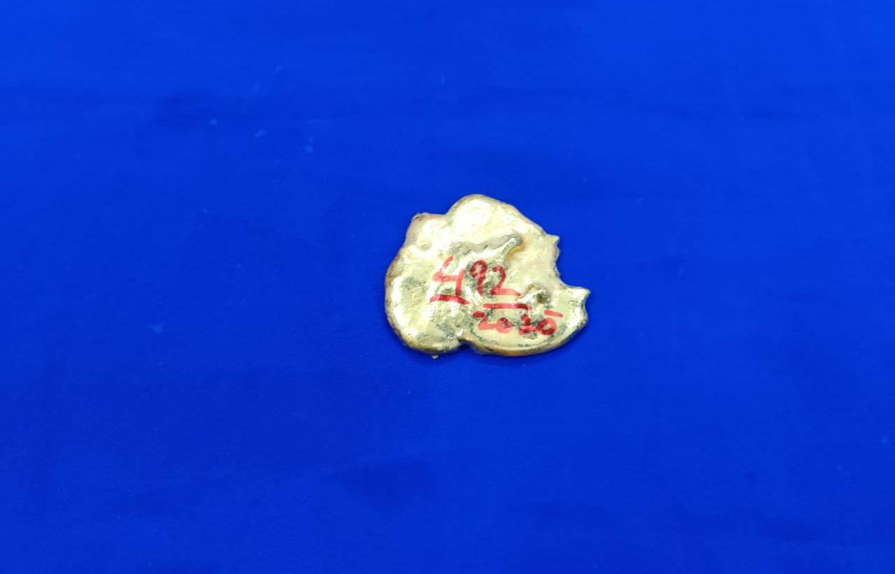 சென்னை விமான நிலையத்தில், ரூ.10.3 லட்சம் மதிப்புள்ள தங்கம் பறிமுதல்.!