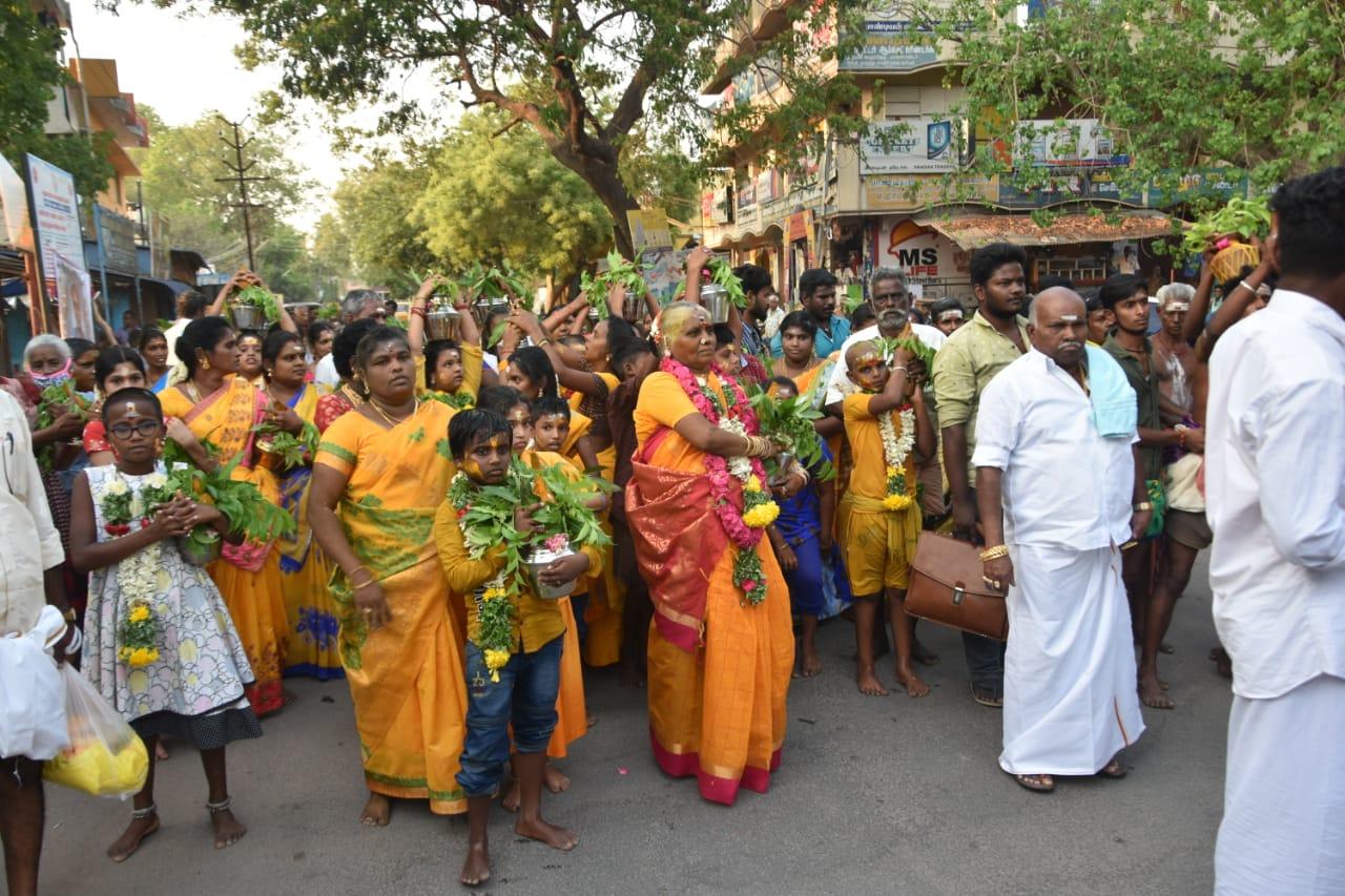சோழவந்தான் உச்சிமாகாளியம்மன் கோவில் திருவிழா.!