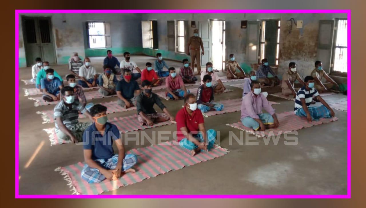 ஈஷா சார்பில் தமிழகத்தில் உள்ள அனைத்து சிறைச்சாலைகளிலும் சிறப்பு யோகா வகுப்பு..!