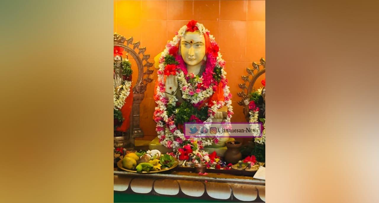மதுரையில் ஆதிசங்கரர் ஜெயந்தி விழா.!