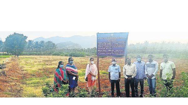 பழமையான கரிவரதராஜ பெருமாள் கோவிலுக்கு சொந்தமான ரூ.10 கோடி  நிலம் மீட்பு.!